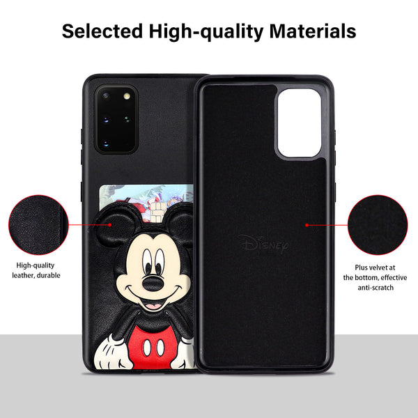 Samsung Galaxy S20 Plus Back Slot Case Disney Mickey Mouse