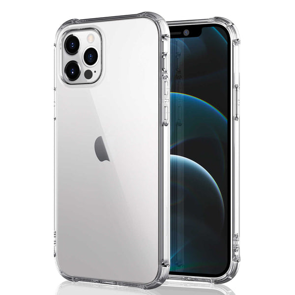 iPhone 12 / iPhone 12 Pro Case Tough On Tough TPU Clear