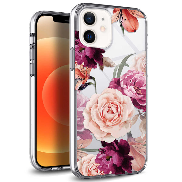 Tough On iPhone 12 Pro Max Case IMD Rose Flower