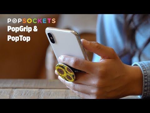 PopSockets Original Grip Pretty Protea