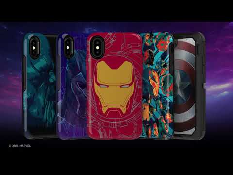 iPhone X & Xs Case OtterBox Symmetry Series Marvel Avengers Captain America