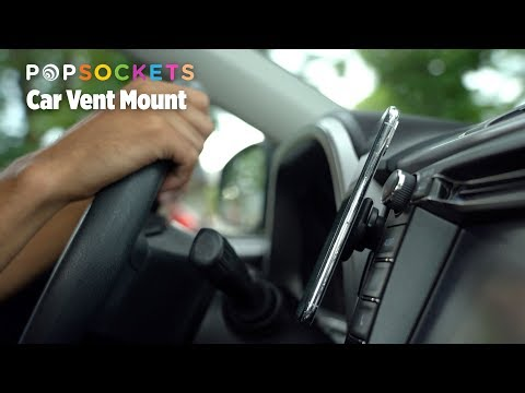 PopSockets Black Car Vent Mount
