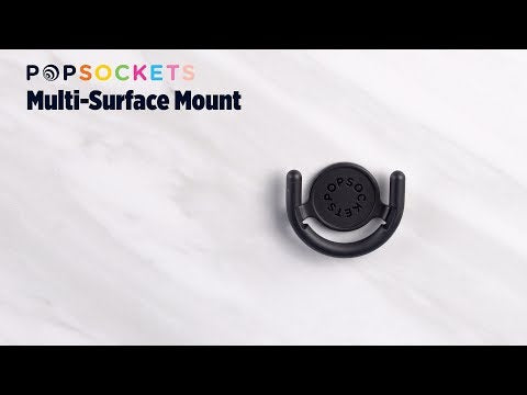 PopSockets Black Multi-Surface Mount