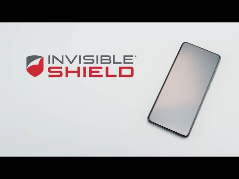 Galaxy S20 Screen Protector Zagg Invisible Shield ULTRA CLEAR+ for Samsung