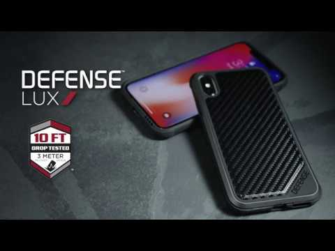 iPhone 11 Pro Max Case X-Doria Defense Lux Black Carbon Fiber