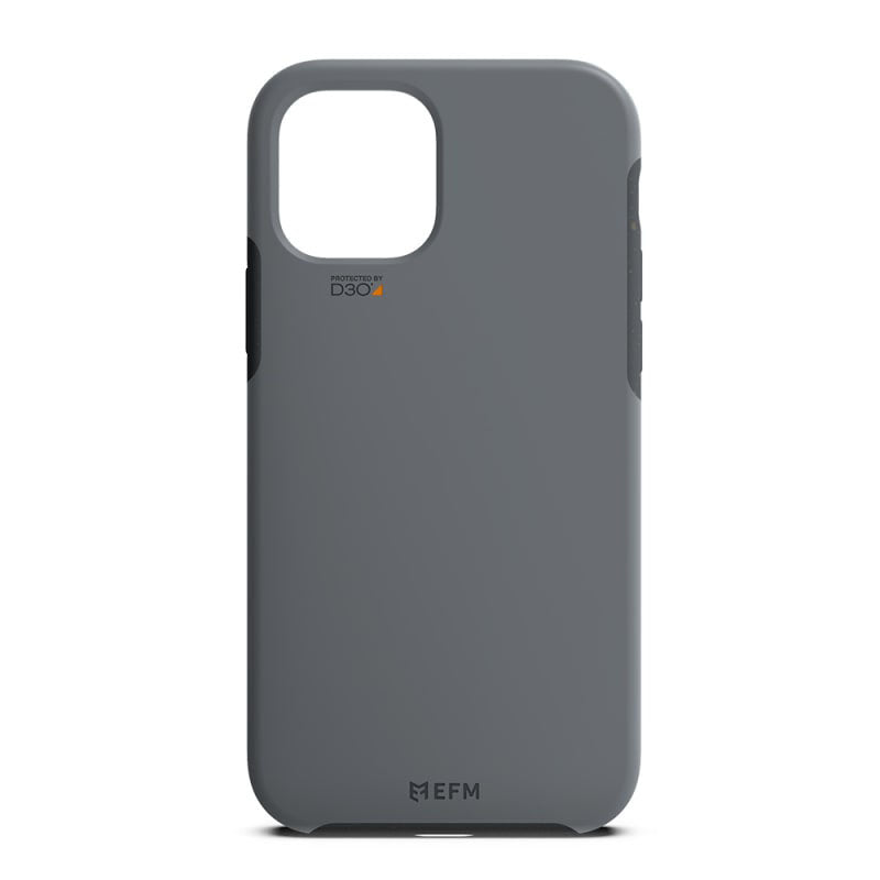 EFM iPhone 12 mini Eco+ D3O Case Armour - Charcoal