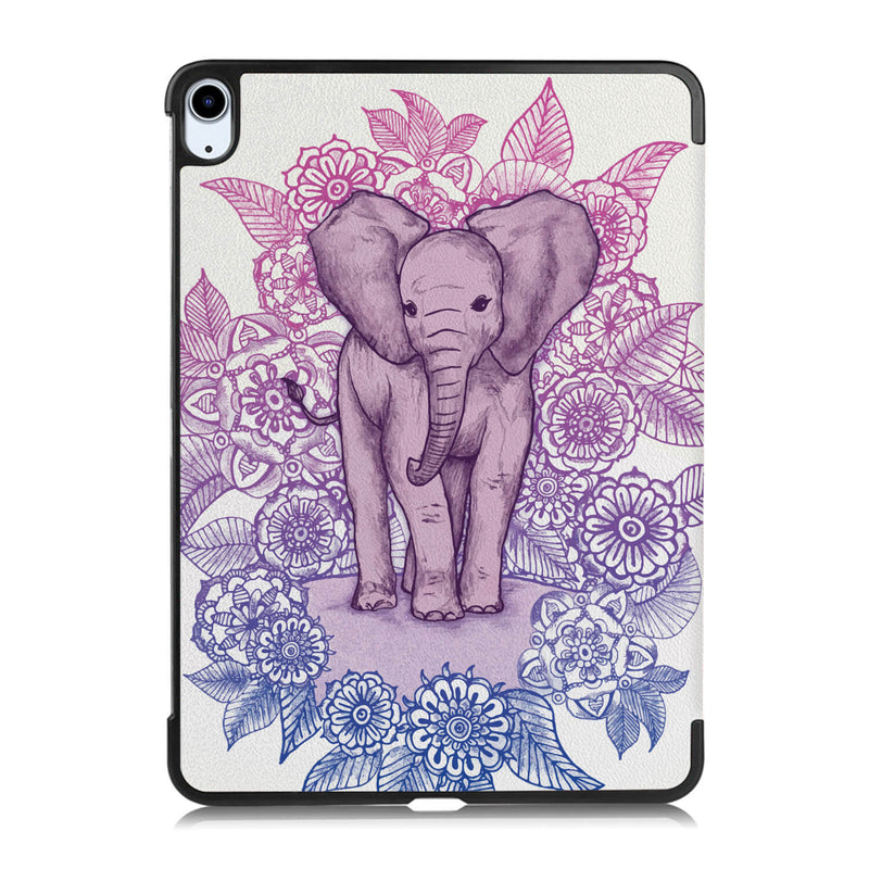 Tough On iPad Air 4 10.9 inch Case Smart Cover Elephant