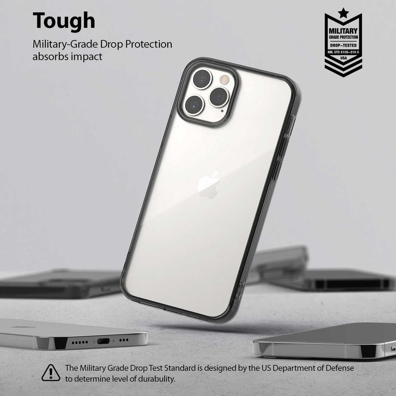 Ringke iPhone 12 Pro Max Case Fusion Smoke Black