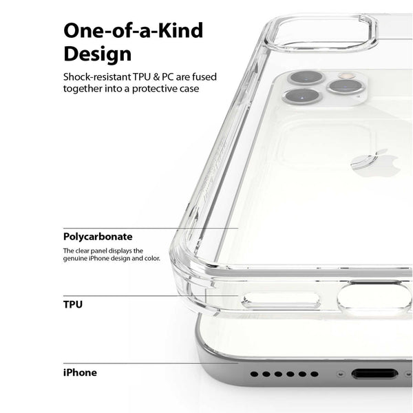 iPhone 12 / iPhone 12 Pro Case Ringke Fusion Clear