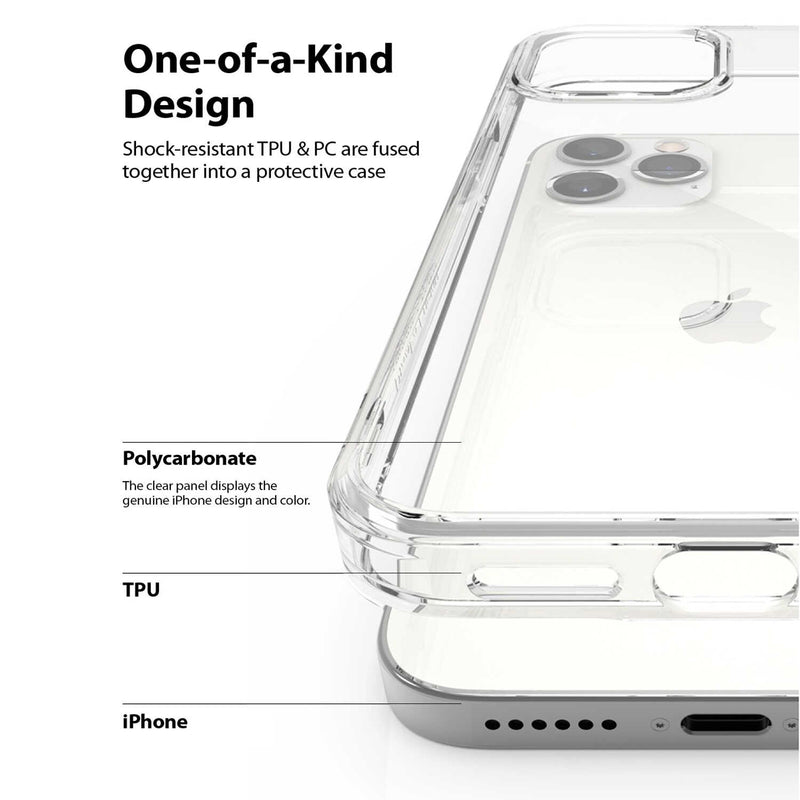 Ringke iPhone 12 Pro Max Case Fusion Clear