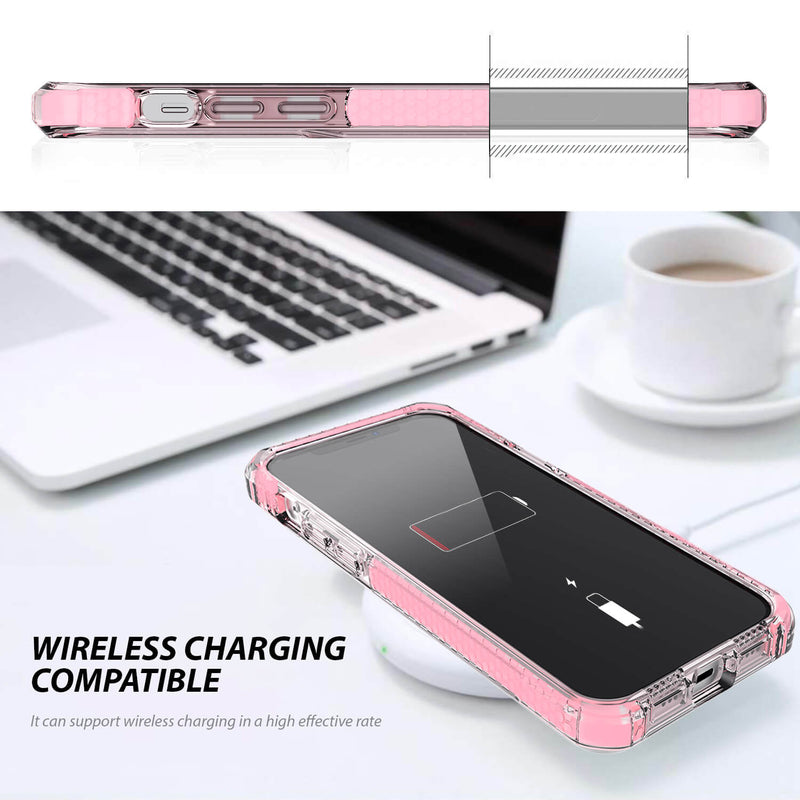 iPhone 12 / iPhone 12 Pro Case Tough On Tough Armor + Pink