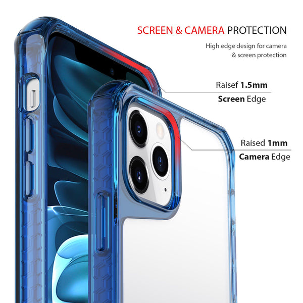 iPhone 12 Pro Max Case Tough On Tough Air Blue