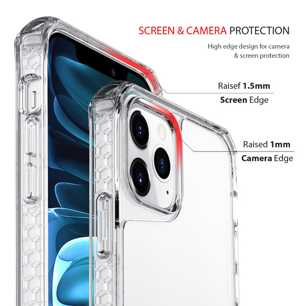 iPhone 12 Pro Max Case Tough On Tough Air Clear