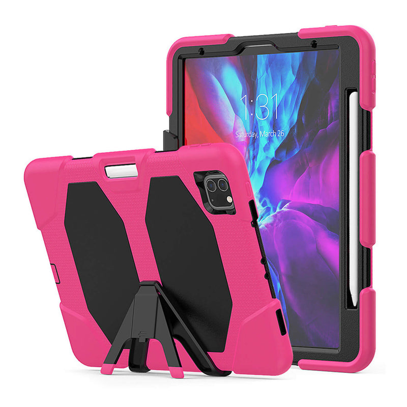 Tough On iPad Air 4 10.9 inch Case Heavy Duty Pink