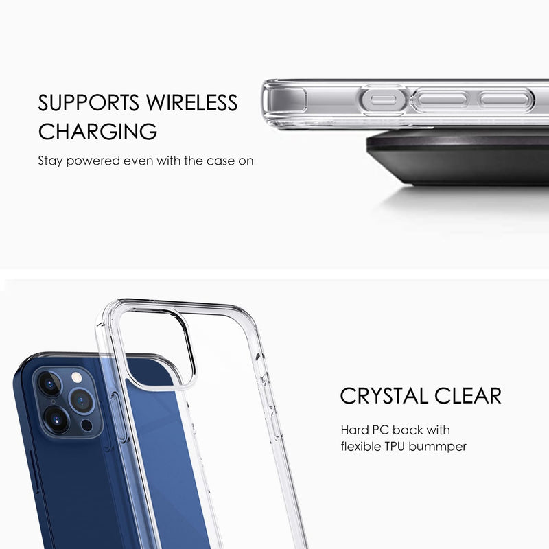 iPhone 12 / iPhone 12 Pro Case Tough On Tough Fusion Clear