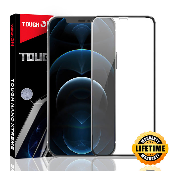 Tough On iPhone 12 Pro Max Screen Protector Tough Nano Xtreme Guard