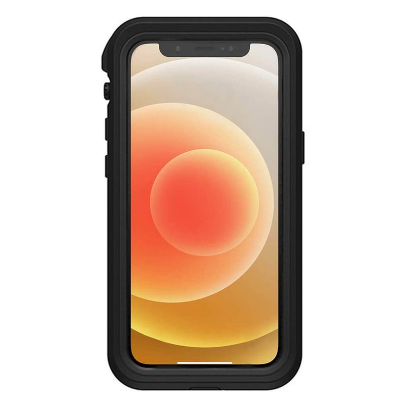 iPhone 12 Case LifeProof FRĒ Waterproof Black
