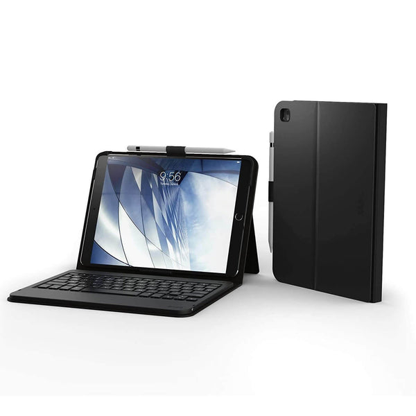 "ZAGG Messenger Folio Case and Non-Backlit Bluetooth Keyboard for for iPad 9.7"" (6/5th Gen) Air & Air 2 Black"