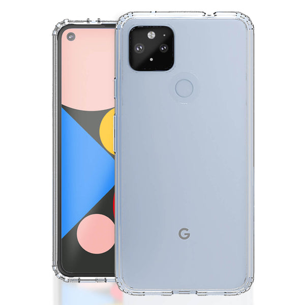 Tough On Google Pixel 4a 5G Case Slim Hybrid Clear