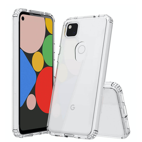 Tough On Google Pixel 4a Case Slim Hybrid Clear