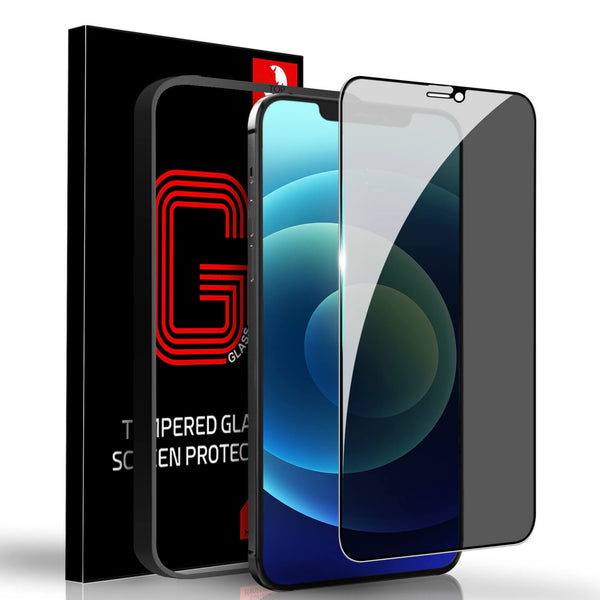 iPhone 12 Pro Max Privacy Screen Protector Tough On Full Glass