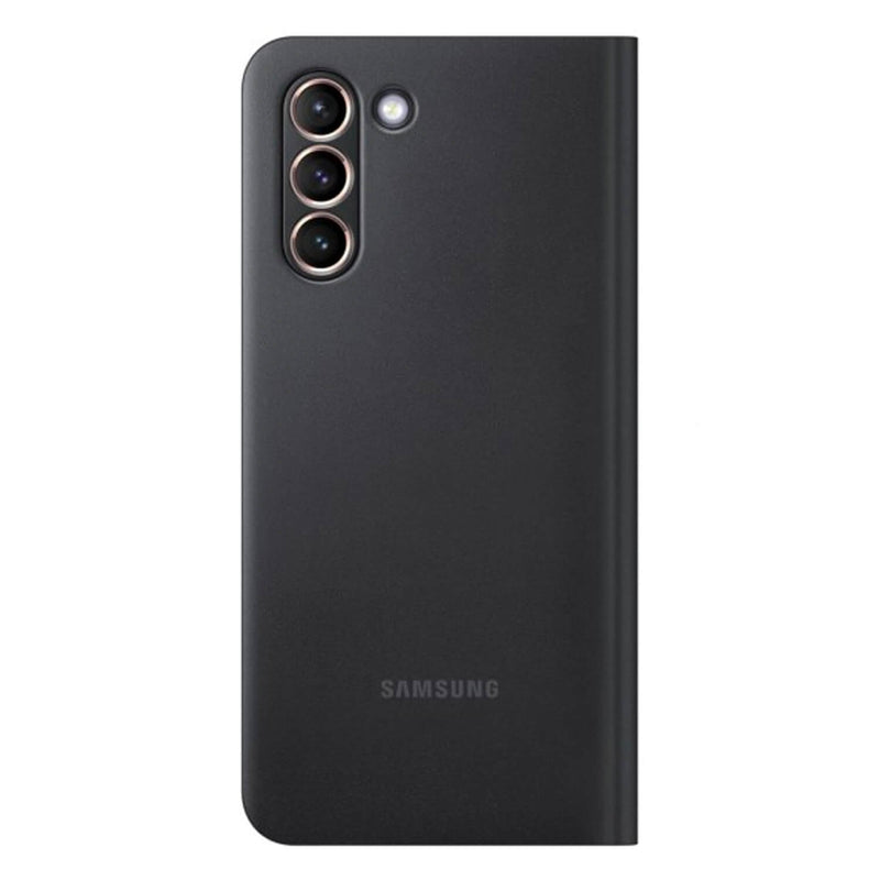 Samsung Galaxy S21 Plus 5G Case Smart LED View Cover Black
