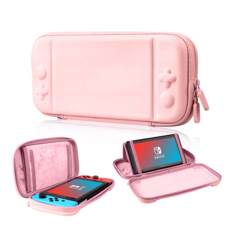 Nintendo Switch Carry Bag Stand Pink