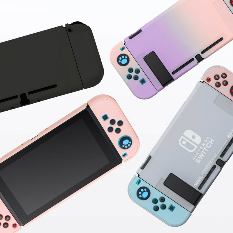 Nintendo Switch Case Hard Matte Purple-Pink