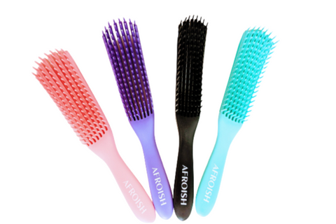 Image of Kitts Afro hair detangling brush(4A-4C) - Afroish