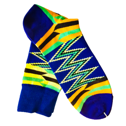 Image of Densu Kente Inspired Cotton Socks - Afroish