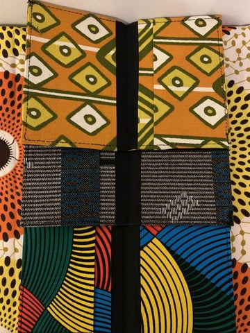 Labadi Ankara Passport Cover - Afroish