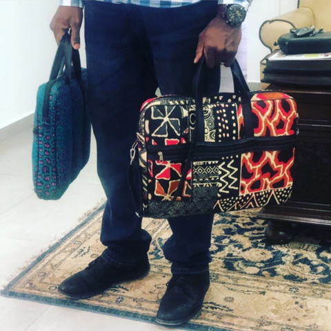 Aburi Ntoma Laptop Bag - Afroish