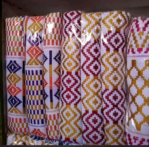 Image of Patasi Traditional Handwoven Kente - Afroish