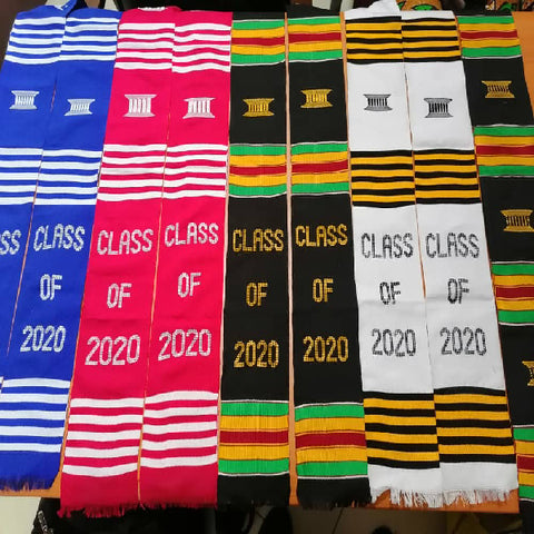 Gye Nyame Traditional Kente Stole - Afroish