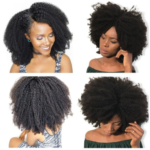 Belo Kinky Curly Hair Weave(4B, 4C) - Afroish