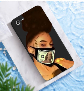 Afroish Boss Chick iPhone Case (Black) - Afroish