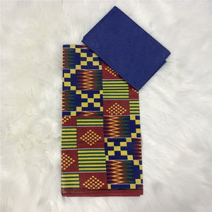 Thika Ankara Fabric 2+2 yards - Afroish