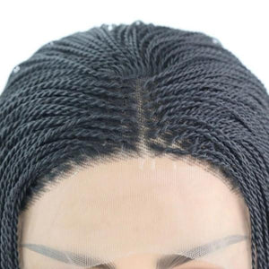 Freeport Micro Twist Braided Lace Wig - Afroish