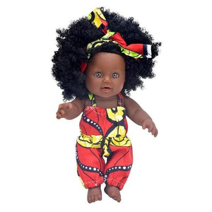 Aswan 12-inch Afro Baby Dolls - Afroish