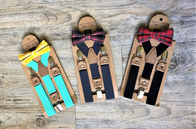 Salis Suspender & Bow Tie Set
