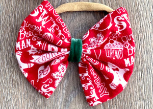Christmas Cookie Bow