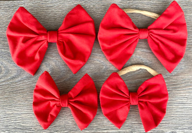 Holiday Candy Red Bow