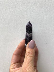 Intuitively Picked Chevron Amethyst