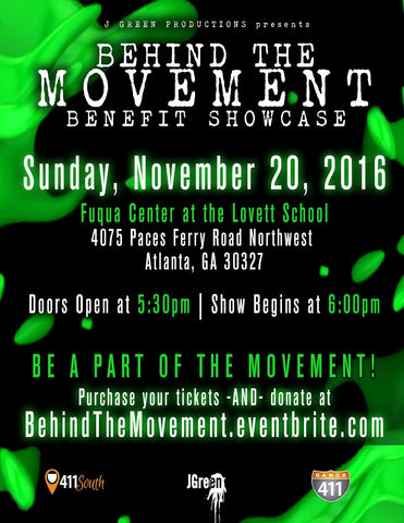 2016 Behind The Movement Benefit Showcase DVD