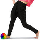 Harem Pants - Black - Adult