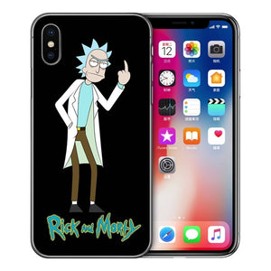 RICK AND MORTY IPHONE