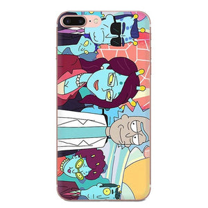 RICK AND MORTY ALIENS IPHONE