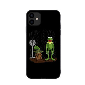 BABY YODA AND KERMIT IPHONE