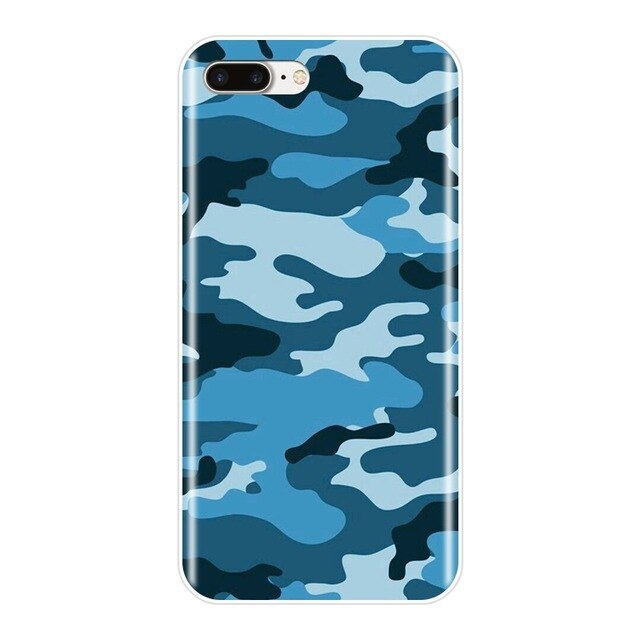 CAMO BLUE IPhone