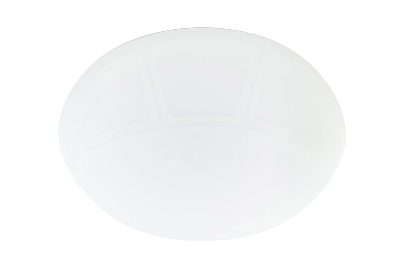 Plum Silicone Suction Plate